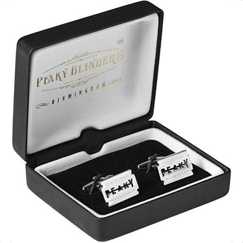 an image of peaky blinders inspired cufflinks - one of our suggestions of peaky blinders gifts for him