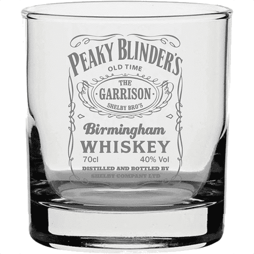 an image of a peaky blinders garrison inspired tumbler
