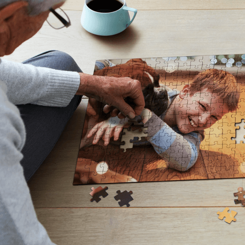 an image of a ravensburger photo jigsaw puzzle
