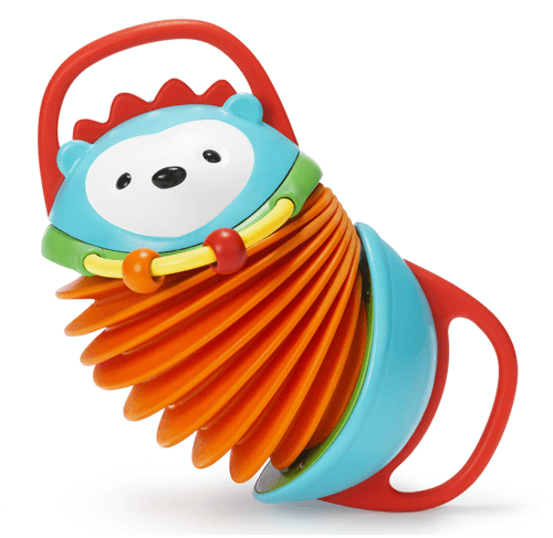 an image of a hedgehog accordion children's toy