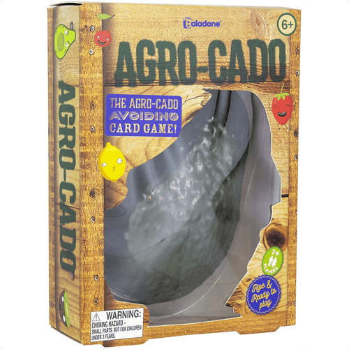 an image of a family card game called agro cado