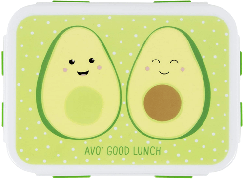 an image of an avocado themed lunch box