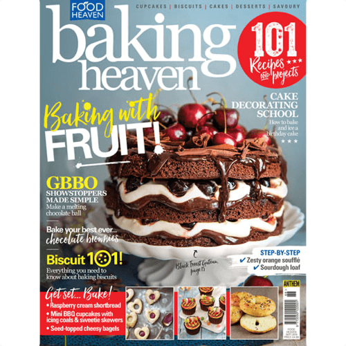 an image of a subscription to Baking Heaven magazine