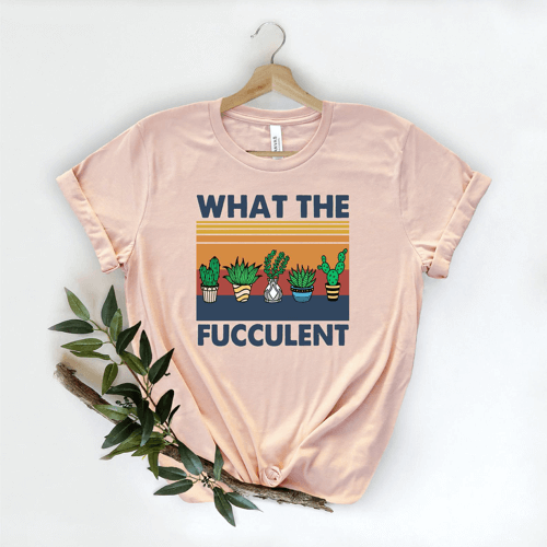 an image of a funny cactus t-shirt - one of our favourite cactus novelty gifts