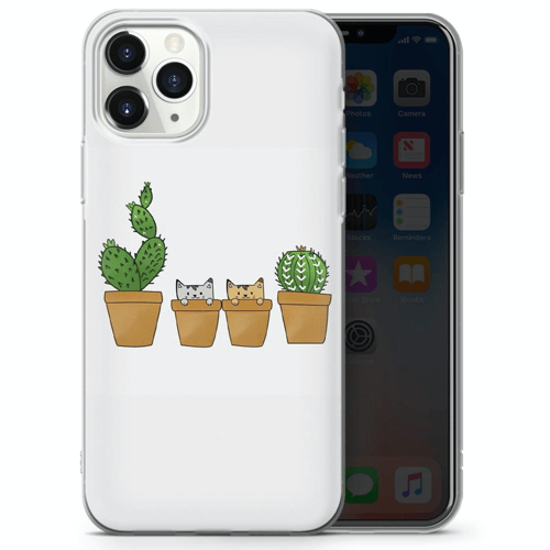an image of a cactus phone cover - one of our cactus gift ideas