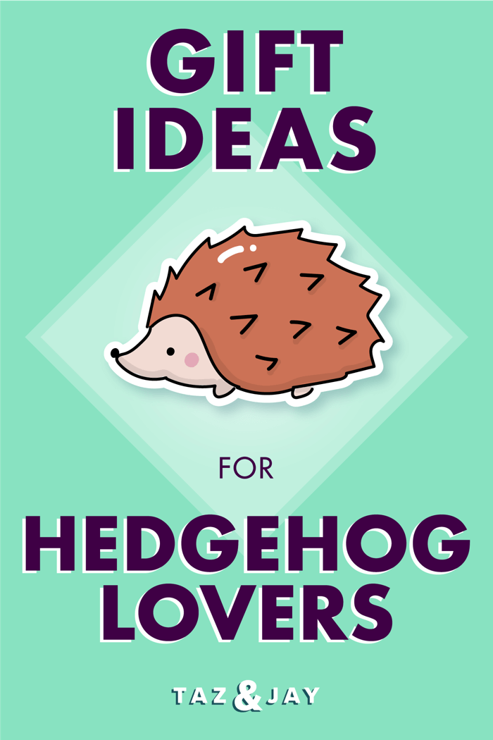 hedgehog gifts pinterest pin image