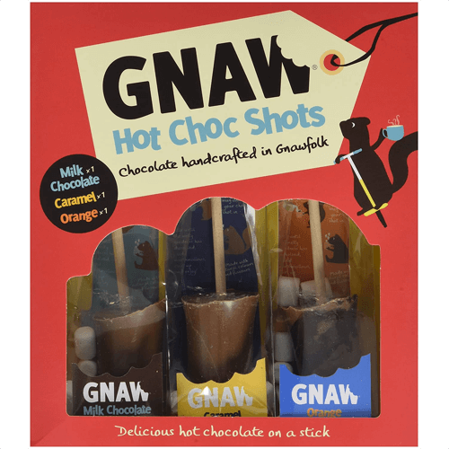 an image of gnaw hot chocolate shots - our pick of the tastiest hot chocolate spoons gifts