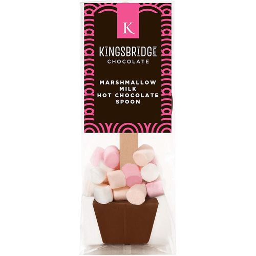 an image of a five pack of marshmallow hot chocolate spoons