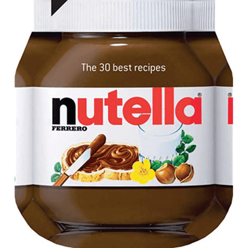 an image of a nutella themed cookbook, which is perhaps the ultimate nutella gift