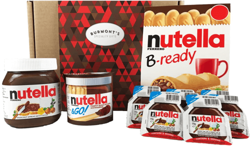 an image of an ultimate selection nutella gift set - one of the essential nutella christmas gifts