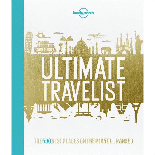 an image of the Lonely Planet Ultimate Travelist book - one of our ideas of gifts for travel lovers