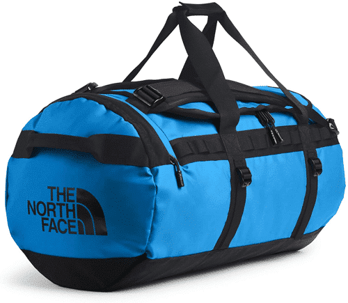 an image of the north face base camp duffel bag gift suggestion