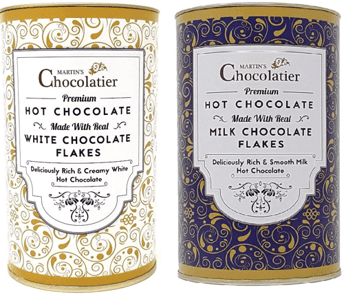 an image of a 1kg tub of fairtrade instant hot chocolate