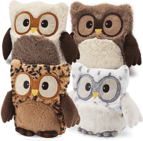 an image of a warmies heatable cuddly animal gift idea