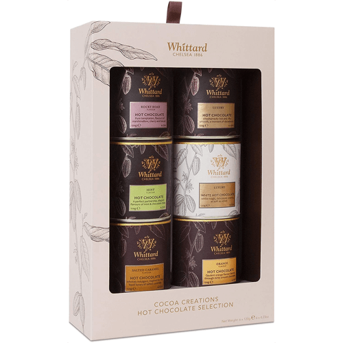 an image of a Whittard of Chelsea cocoa creations hot chocolate gift set