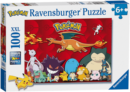 an image of a 100 piece pokemon jigsaw puzzle