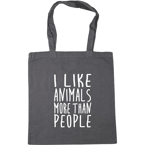 an image of a cute animal tote bag
