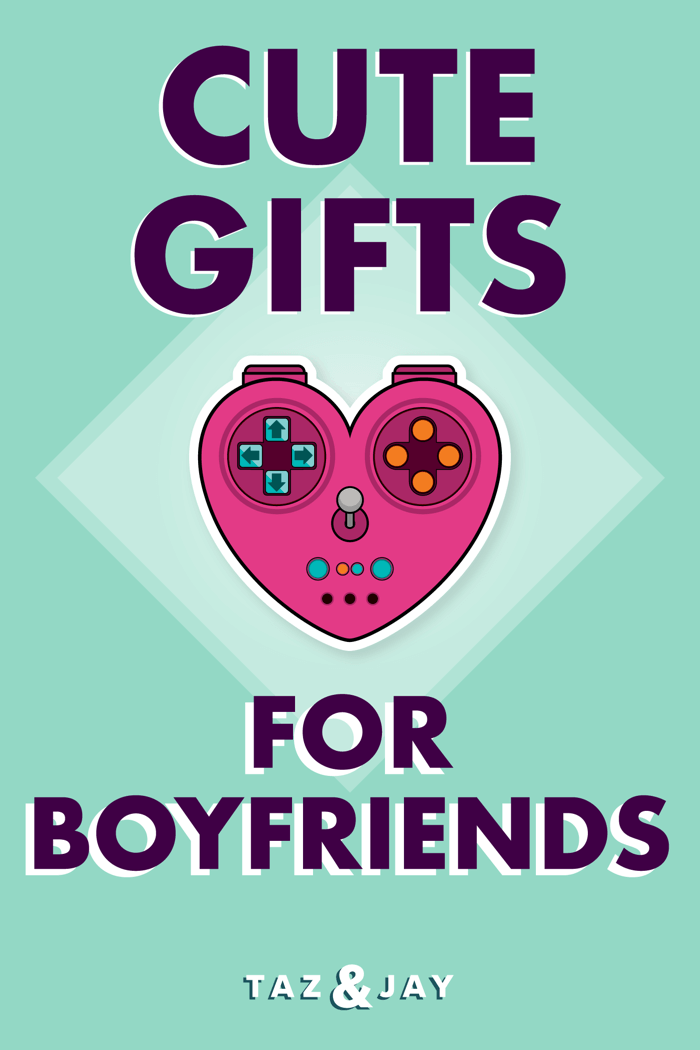 cute gifts for boyfriend pinterest pin image
