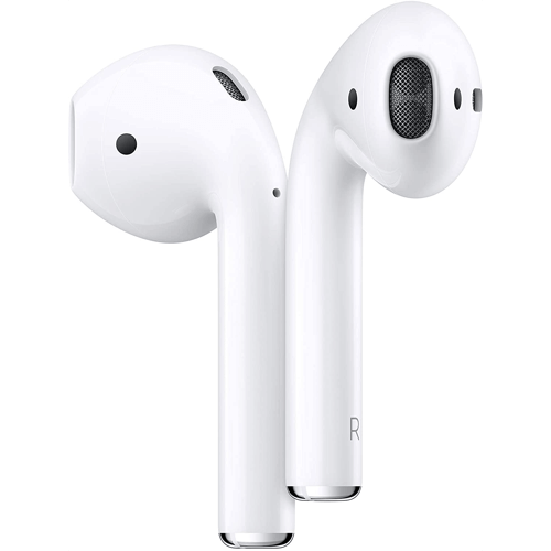 an image of apple airpods with a charging case
