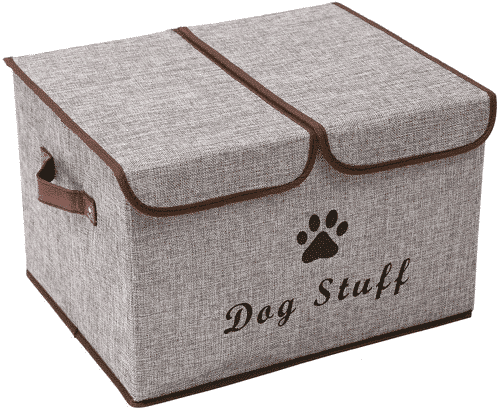 an image of a large dog stuff storage box - one of our ideas of unique gifts for dog walkers