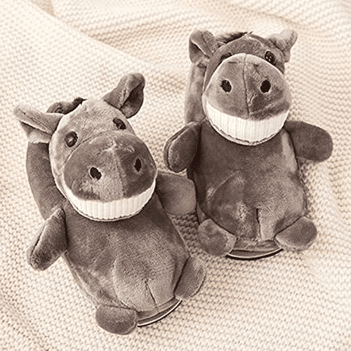 an image of animal themed slippers