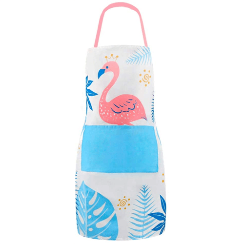 an image of a flamingo apron for women