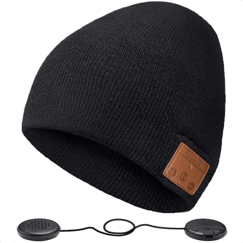 an image of a bluetooth music beanie hat