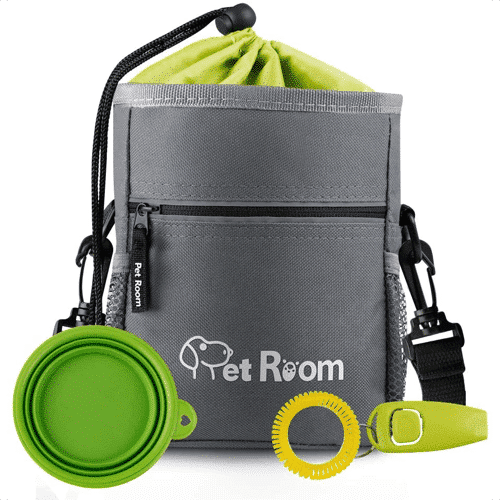 an image of the pet room dog walking pouch bag gift idea