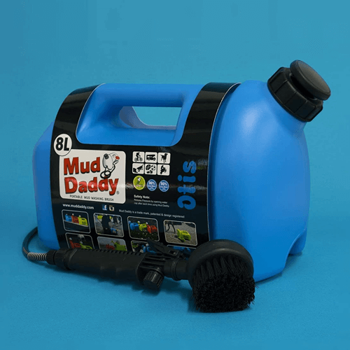 an image of a mud daddy portable dog washer- one of our ideas of good gifts for dog walkers
