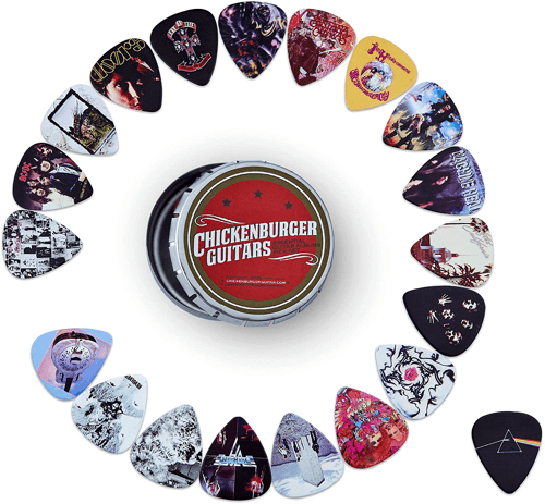 an image of essential album cover guitar picks - our pick of the essential guitar player gifts