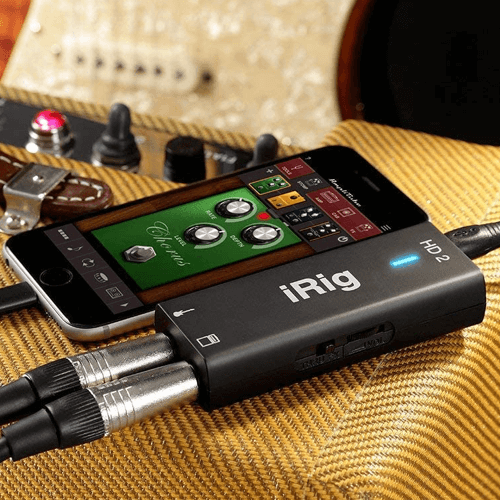 an image of the IK Multimedia iRig HD 2 interface