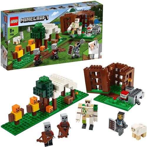 an image of a lego set called the pillager outpost