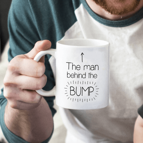 an image of a dad to be mug gift idea