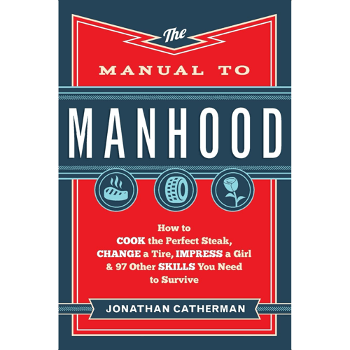 an image of the manual to manhood book