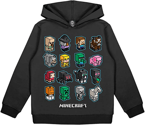 an image of a minecraft mini mobs hoodie