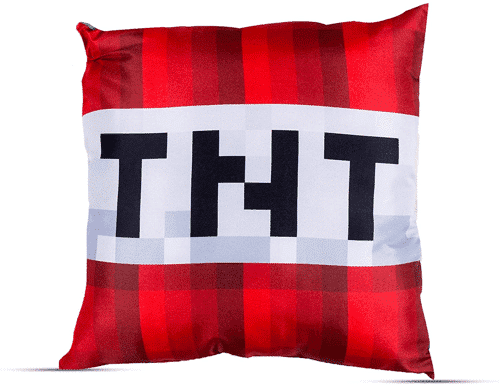 an image of a minecraft two sided pillow