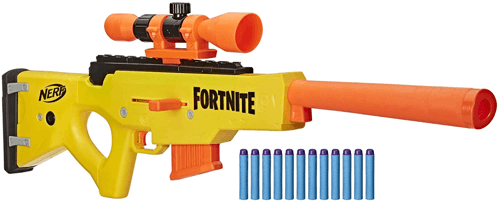 an image of a nerf fortnite basr-l bolt action rifle