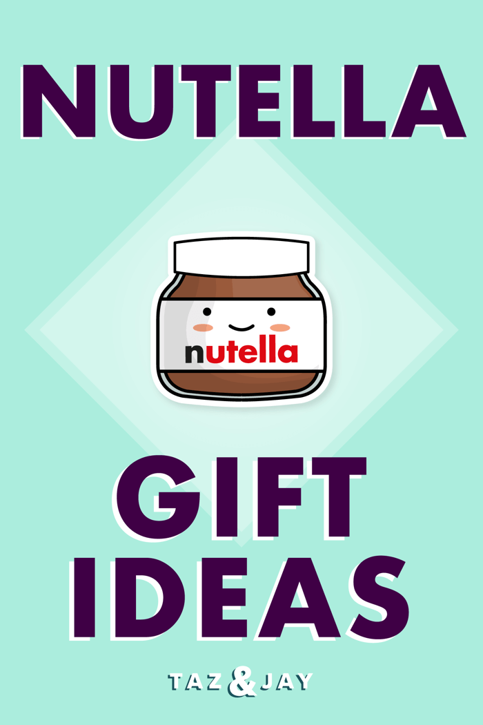 nutella gifts pinterest pin image
