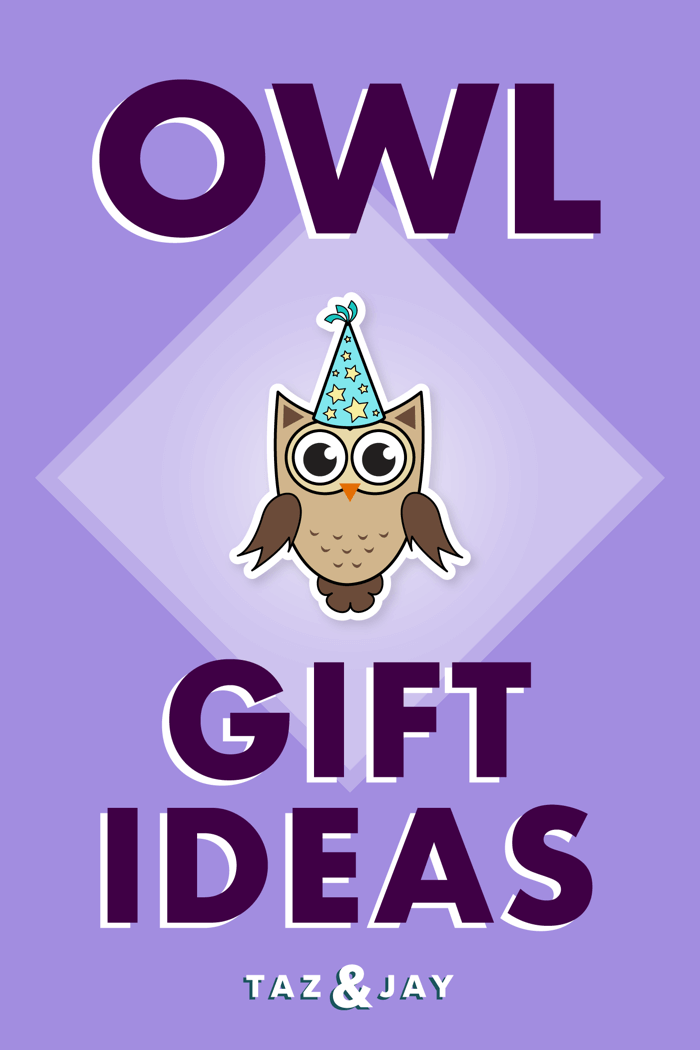 owl gifts pinterest pin image