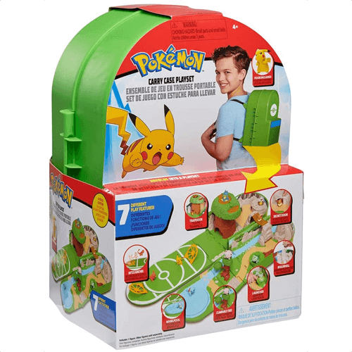 an image of a pokemon carry case playset