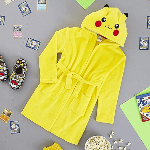 an image of a pikachu dressing gown