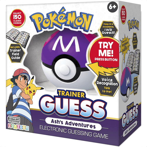 an image of a pokemon trainer guess electronic game