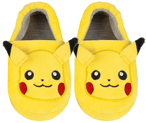 an image of pikachu slippers