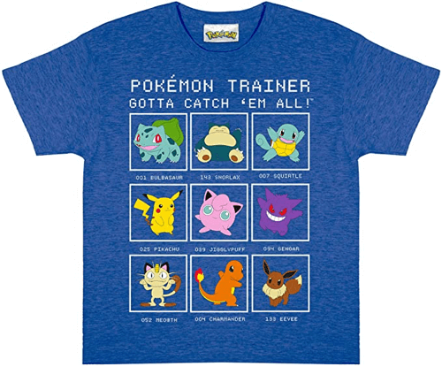 an image of a pokemon t-shirt for children
