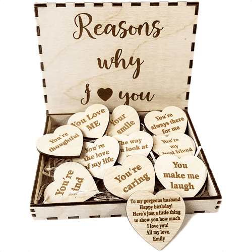 an image of a reasons why I love you gift box