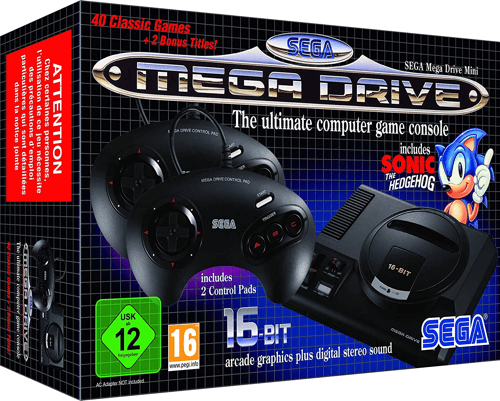 an image of a sega mega drive mini console - one of our ideas of cute christmas gifts for boyfriends