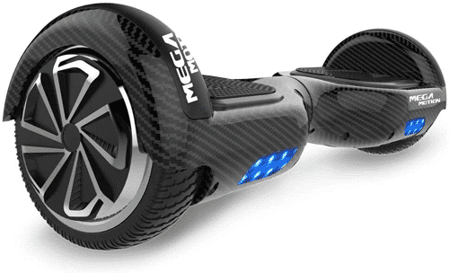 an image of an electric hoverboard with bluetooth speaker - one of our ideas of presents for 17 year old boys