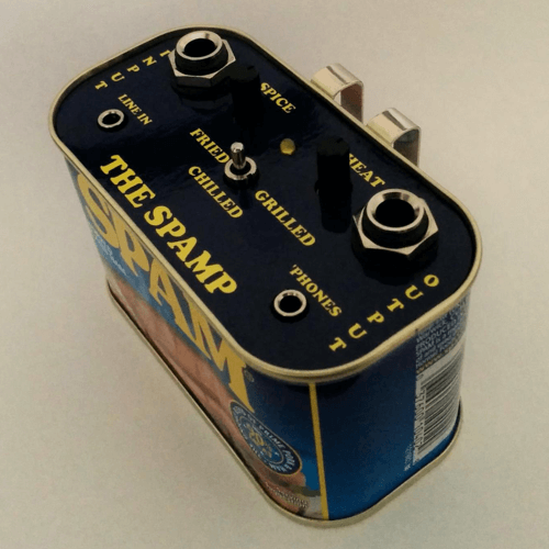 an image of the spamp guitar practice amplifier