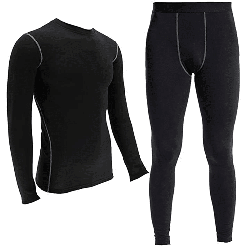 an image of a thermal underwear set for men