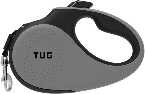 an image of a heavy-duty tangle-free retractable dog lead